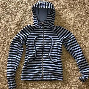 Lululemon hooded fleece jacket